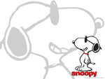 the dog snoopy