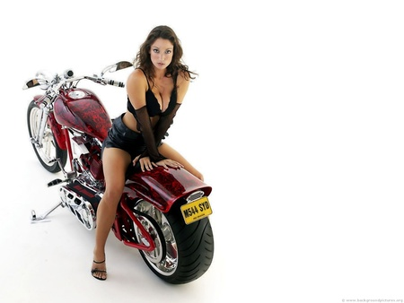 Red Dragon Custom - motorcycles, harley davidson, choppers, bikes