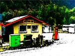 Hollyford camp