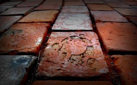 brick-tile-1280-2 - tile, linux, brick, ubuntu