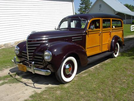 1939 PLYMOUTH WOODY WAGON - auto, old car, plymouth, cars