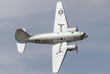 Curtiss C-46 Commando - united states air force, world war two, transport aircraft, us air force