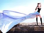 rosie roff for art/fashion shoot