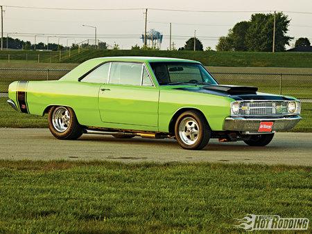 1969 Dodge Dart GT - In The Limelight - Dodge & Cars Background