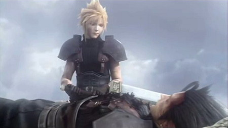 Zack and Cloud - crisis core, zack, final fantasy, cloud