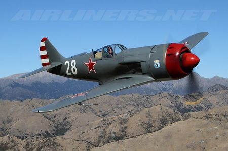 Lavochkin La-9 - world war two, red air force, lavochkin la 9, soviet air force
