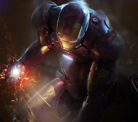 Iron man 2 - Man, CG, Movie, Iron