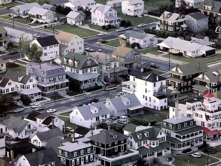 Cape may - New Jersey - usa, cape may, east coast, new jersey, america, birdseye view, air view