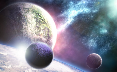 289 - space, planets, new, planet