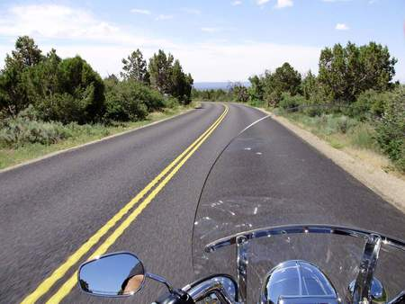 OPEN ROAD - harley, colorado, open road, freedom