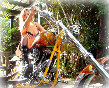 Kustom chopper - motorcycles, choppers, bikes, harley