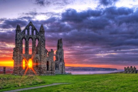 Whitby-Abbey - Sunsets & Nature