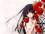 red rose anime