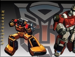 Transformers: Sideswipe and Sunstreaker