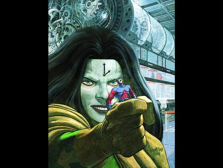 Atom - fantasy, art, atom, comic