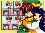 Syaoran and Meiling