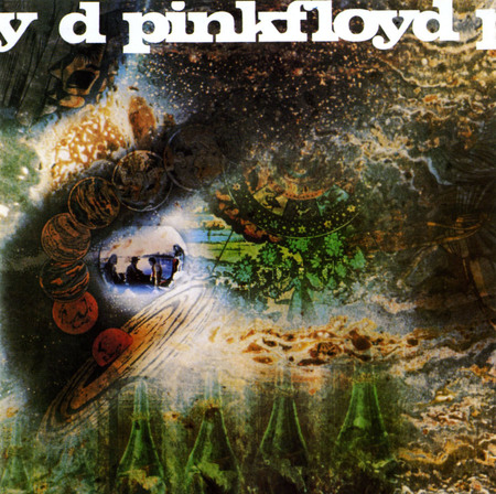 A Saucer Full of Secrets - entertainment, pink floyd, album cover, music, lp