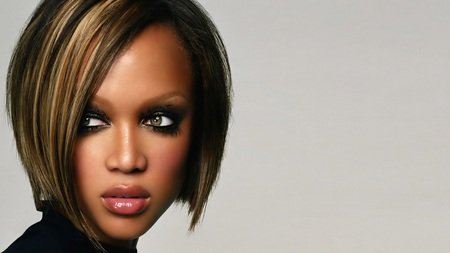 Tyra-Banks face - female, models, woman, women, hair, people, face, lady, eyes