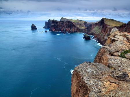 Ponta de Sao Lourenco - rock, ocean, sea, portugal, madeira, landscape
