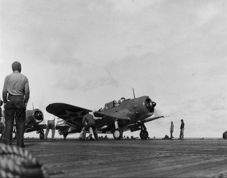 Douglas Dauntless - war, divebomber, ww2, douglas, bomber, enterprise, dauntless