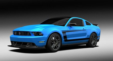 2011 Boss 302 - 302, mustang, ford, blue