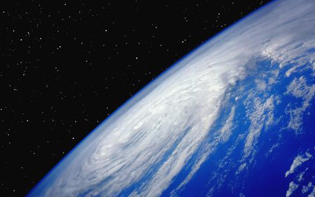 typhoon - space, typhoon, atmosphere, earth