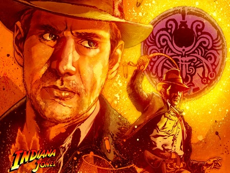 Indiana Jones - dark horse, cinema, fantasy, classic, movies, comic, romance, adventure, indiana jones, action
