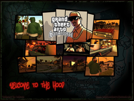 Welcome to the Hood - gtasa, san andreas, grand theft auto, gta