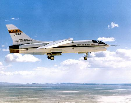 NASA F- 8 Crusader - aircraft, f-8, test, flight