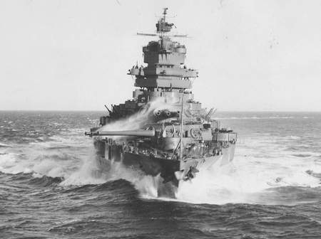 USS Idaho - war, battle, ww2, uss, battleship, idaho, navy