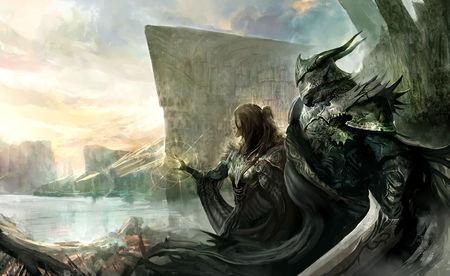 Warriors - fantasy, z, warriors, art