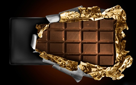 Chocolate - rich, chocolate, very, good