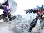 Transformers WFC Megatron vs Optimus