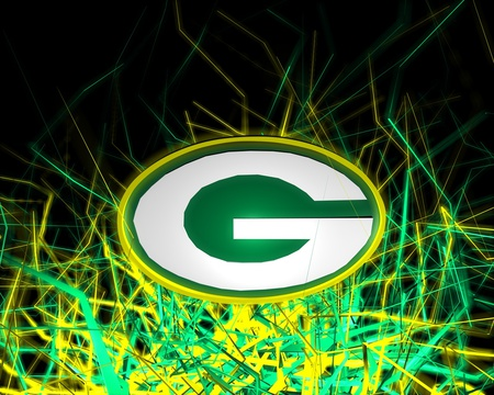 Electrifying Packers - bright, green bay, electric, packers