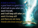 Friends are like Books