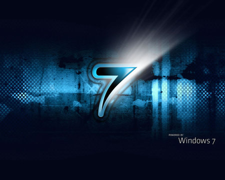 windows - windows, shine, seven, blue