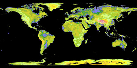Topography - map, other, world, earth