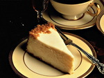 coffee and cheese cake
