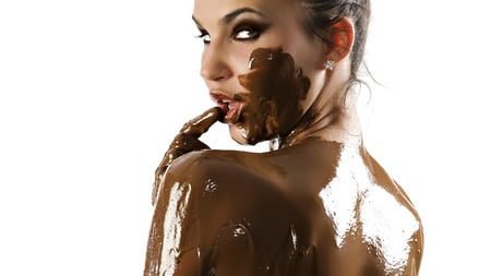 Chocolate Girl Models Female People Background Wallpapers On