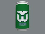 Hartford Whalers Soda Can