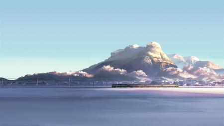Shinkai Makoto Train Scetch Other Anime Background Wallpapers On Desktop Nexus Image 58048