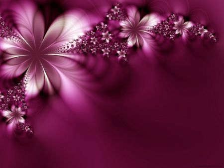 Dreamlike Flowers - flowers, dreamlike, purple