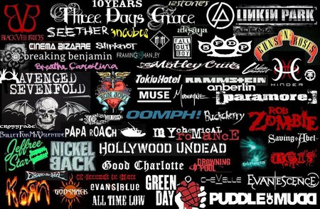Rock Music - bands, collage, rock, music