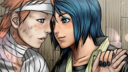 Yahiko and Konan HD 720 - akatsuki, anime couple, anime love, anime, konan, naruto, pein, couple, yahiko, love