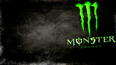 Monster Energy - Black - green, dark, monster energy, black, neon, neon green, monster