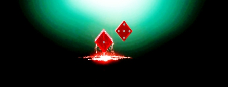 Felling Lucky - gamble, red, luck, dice