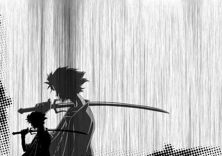 Samurai Shadow Other Anime Background Wallpapers On Desktop Nexus Image 586022