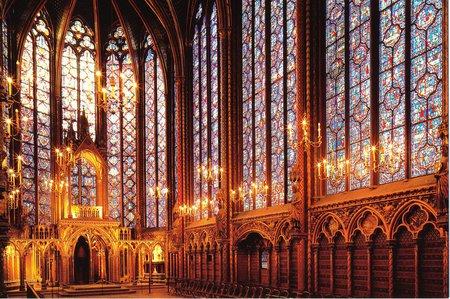 Interior Gothic Church