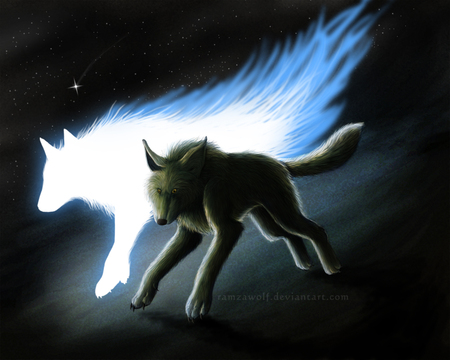 Cool Wolf Spirit Animal Wallpaper Wallpaper Hd New