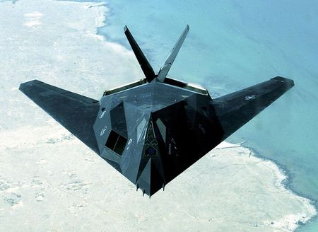 Lockheed F-117 Nighthawk - stealth aircraft, united states air force, stealth fighter, us air force